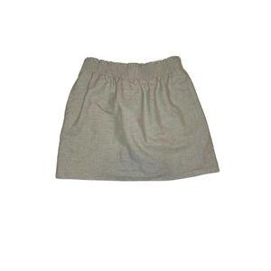 J. Crew Skirt Size 6 Small Tan Pockets Pleated